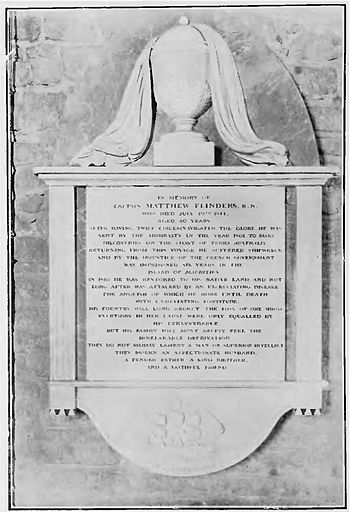 Page 521 memorial (The Life of Matthew Flinders).jpg