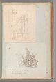 Page from a Scrapbook containing Drawings and Several Prints of Architecture, Interiors, Furniture and Other Objects MET DP372149.jpg