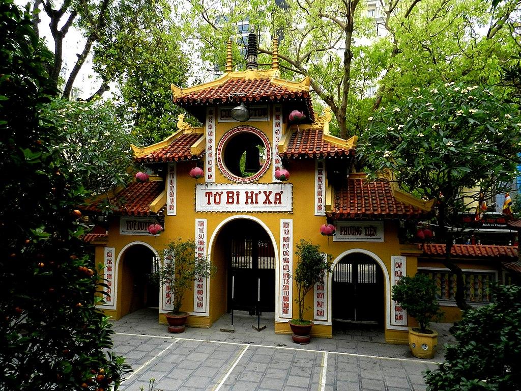 Pagode Quán Sứ à Hanoi - Photo de Guerinf