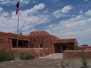Painted Desert Inn lodge complex in Petrified Forest National Park, in Navajo County