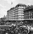 Palace Hotel hosts Pres. McKinley 1901.jpg