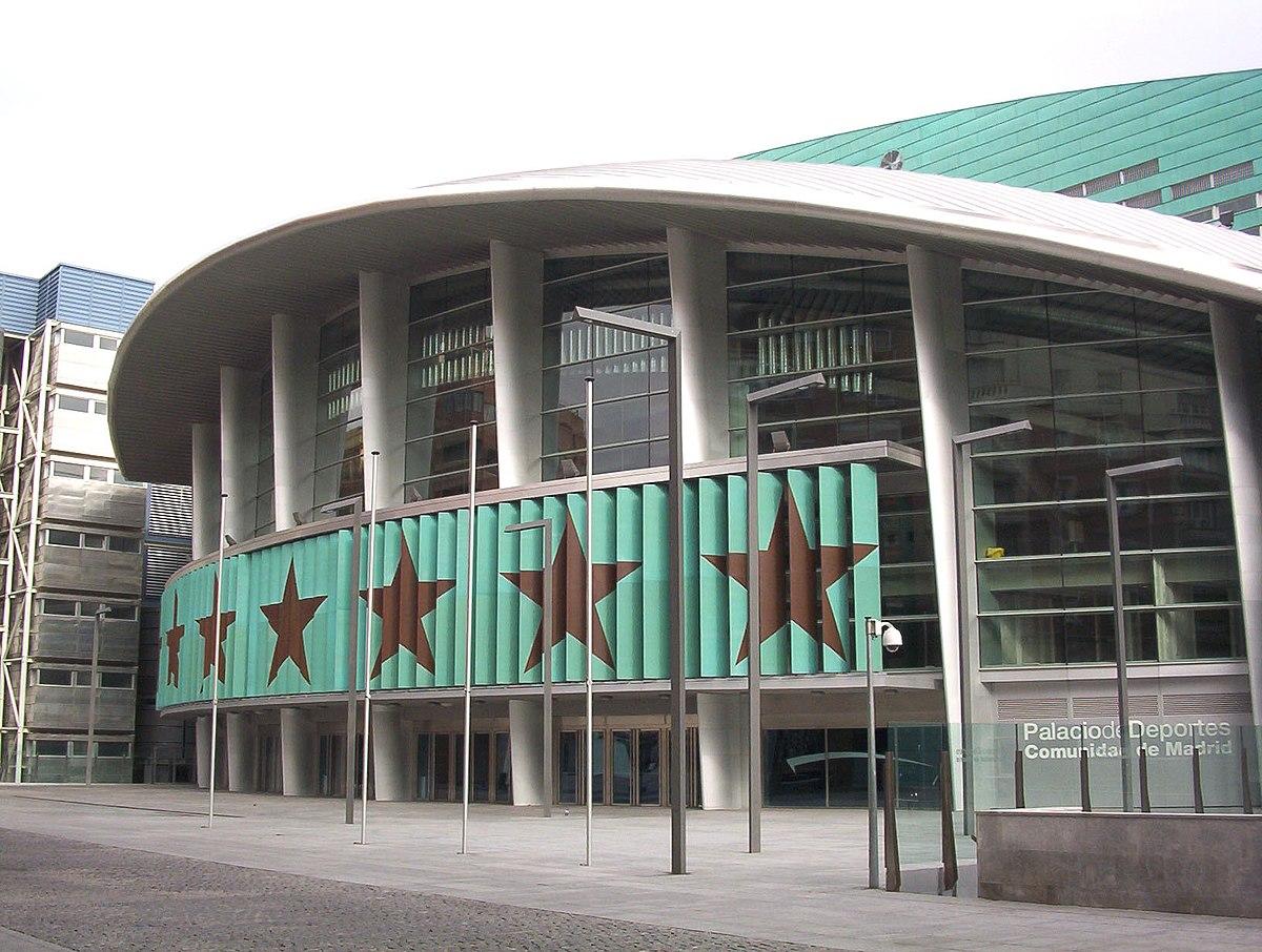 Palacio de deportes de la comunidad de madrid wikipedia - Pabellon de deportes madrid ...