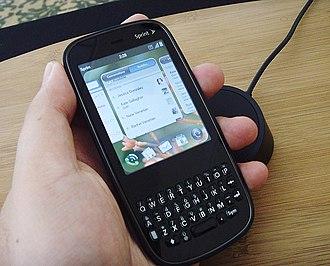 Palm Pixi - Image: Palm Pixi Sprint