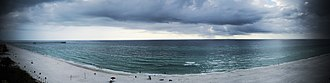Panama City Beach, Florida - Image: Panama Beach Panorama