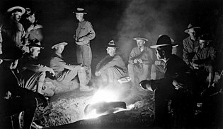 Pancho Villa Expedition - Around the Campfire HD-SN-99-02005.JPEG