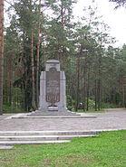 Paneriai monument 3