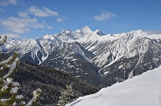 Panorama Mountain Village ski resort in British Columbia, Canada