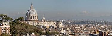 Panoramica of Rome view from Via San Lucio.jpg
