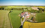 Panschwitz-Kuckau Alte Ziegelscheune Aerial Pan.jpg