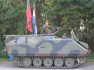 Srebrenica massacre - A Dutch YPR-765 as used at Srebrenica