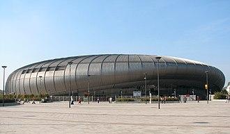 2017–18 Magyar Kupa (women's handball) - László Papp Sports Arena hosted the tournament