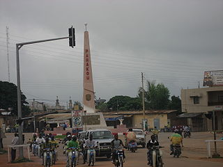 Commune and city in Borgou Department, Benin