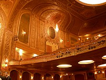 Interior And Balcony Of Paramount Theatre