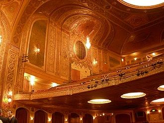 Paramount Theatre (Seattle) - Interior and balcony of Paramount Theatre