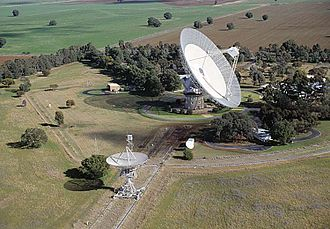 The Dish - The Parkes 64-metre radio telescope at the Parkes Observatory in New South Wales, Australia (the bigger of the two) Picture credit: CSIRO