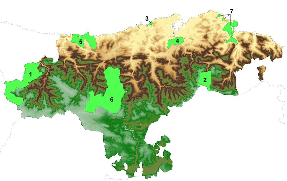 Parques Naturales y Nacionales de Cantabria