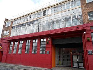 Spiders (album) - Parr Street Studios, Liverpool, where the album was recorded.