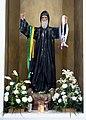 Parroquia de Nuestra Señora del Carmen (Playa del Carmen, QR) - St. Charbel Makhlouf statue.jpg