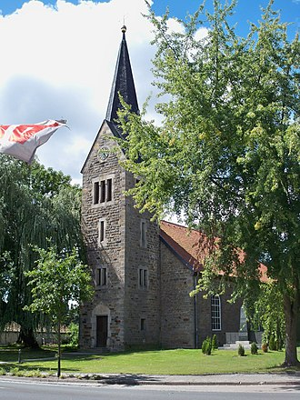 Parsau - Image: Parsau Kirche