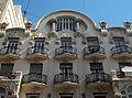 Part superior de la casa Peris, València.JPG