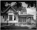 Partial east elevation (front portion) - O'Shee House, 1606 Fourth Street, Alexandria, Rapides Parish, LA HABS LA,40-ALEX,1-7.tif