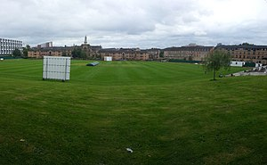 1872 Scotland vs England football match - Hamilton Crescent in Partick  hosted the match