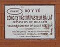 Pasteur Institute of Da Lat sign 1.jpg