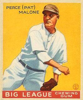 Pat Malone American baseball player