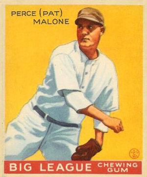 Pat Malone - Image: Pat Malone Goudeycard