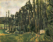 Paul Cézanne - Poplars - Google Art Project.jpg