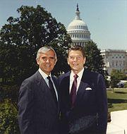 Paul Laxalt and Ronald Reagan 1980
