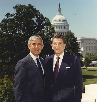 Paul Laxalt - Senator Laxalt and then-candidate Reagan during the 1980 campaign