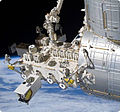 Payloads attach to the Exposed Facility of the Japanese Experiment Module on the International Space Station..jpg