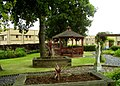 Peaceful garden at Glenfield Hospital - geograph.org.uk - 964858.jpg