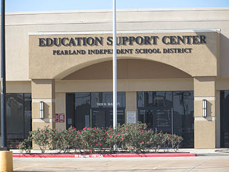 Pearland, Texas - The Education Support Center, the headquarters of Pearland ISD