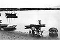 Pecheurs, barques a Barachois - 1938.jpg