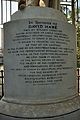 Pedestal Inscription - David Hare Statue by Edward Hodges Baily - 1845 CE - Hare School Playground - 87 College Street - Kolkata 2015-02-09 2252.JPG