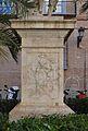 Pedestal del monument a Joan de Joanes, València.JPG