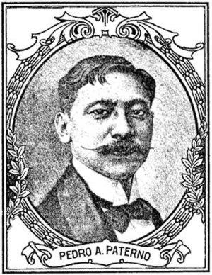 Pedro Paterno - Pedro Paterno