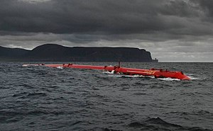 Renewable energy in the European Union - Pelamis wave energy converter