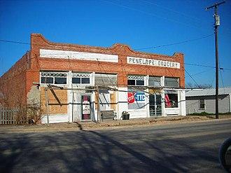 Penelope, Texas - Downtown Penelope
