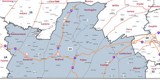 Pennsylvanias 13th congressional district United States congressional district in Pennsylvania