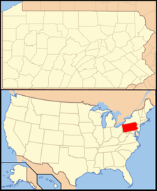 Wall is located in Pennsylvania