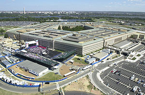Pentagon Aerial on September 11, 2002 by Angel...