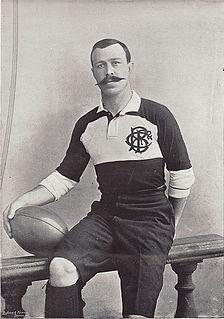 William Percy Carpmael British rugby union player