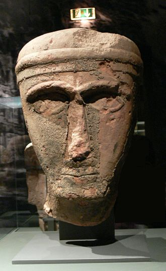 Lihyan - Statue of a man from Lihyan kingdom