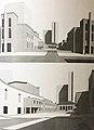 Perspective views Image taken from 'Arkitektura Moderne italiane per qytetet e shqiperise', A.Mengini, F.Pashako, M.Stigliano (book).jpg