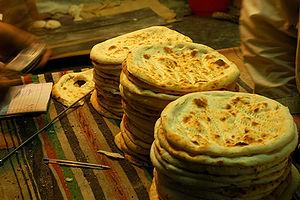 Naan - Image: Peshawari Roti, Pakistan