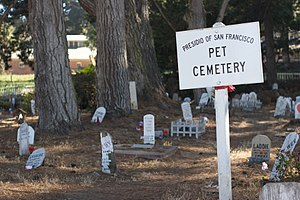Pet cemetery - Pet cemetery in San Francisco, California