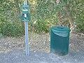 Pet waste station, Spanish Fork River Trail, Jul 15.jpg